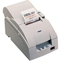 TM-U220D, Impact, two-color printing, 6 lps, Parallel interface, Power supply, White
