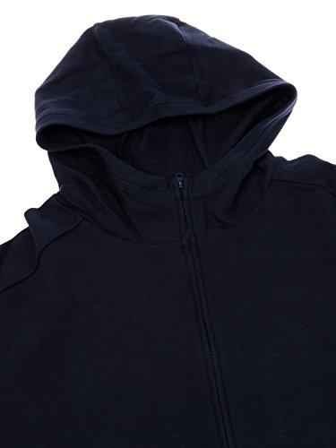 Cotone Woolrich Blu Donna Wwfel1017300 Felpa qHHUA