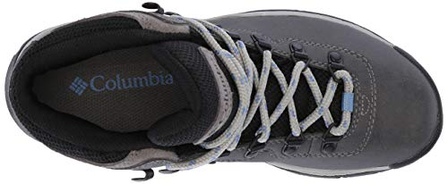 Columbia Women's Newton Ridge Plus Hiking Boot, Quarry/Cool Wave, 5.5 Wide US by Columbia (Image #7)