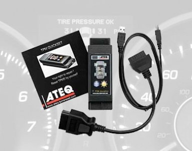 ATEQ QuickSet is a TPMS programmer tool that does ECU relearn as well, making it a great addition to your tool chest.