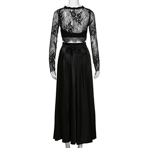 d0dbfc93b8c De Vestidos Noche Verano Vestido Bodas Lilicat® Falda Negro Blusas Mujer  Formal Fiesta Larga Sin ...