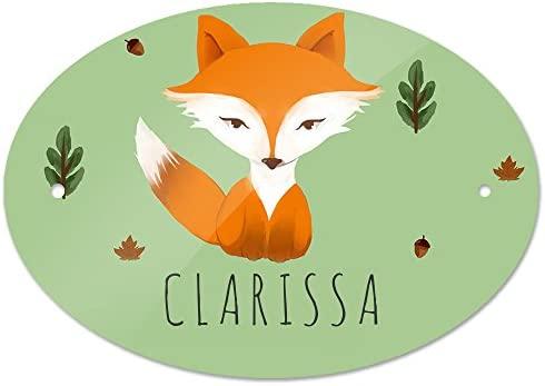 Eurofoto - Cartel para Puerta con Nombre Clarissa y diseño ...