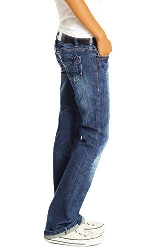 Blu Donna J137p Pantaloni Bestyledberlin Larghi Jeans 8HqPnwaO