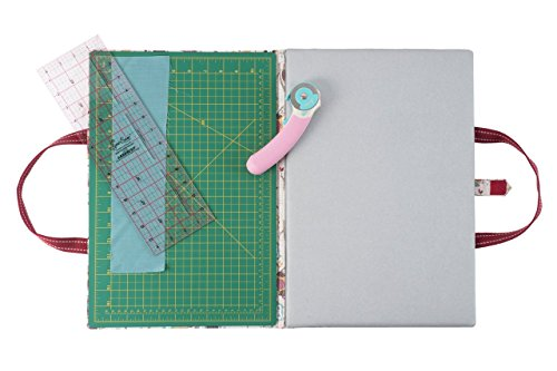 Trimits 'Hoot' Quilters Folding Cutting & Ironing Mat 60 x 46cm by Trimits