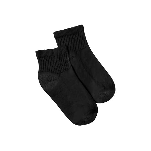 Hanes Women's Cushioned Athletic Ankle Socks