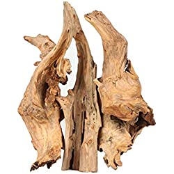 NCYP Natural Driftwood Bogwood Branches Set for Landscaping Decoration Design Air Plants Reptile Miniature Reptile Habitat Box