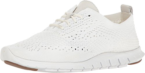 Cole Haan Women's Stitchlite Oxford, Optic White, 7 B US