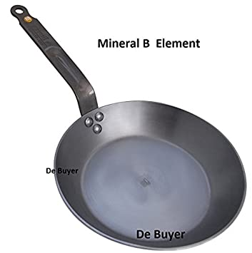 de Buyer Mineral B Element - sartén 26 cm - hierro cera de abejas: Amazon.es: Hogar