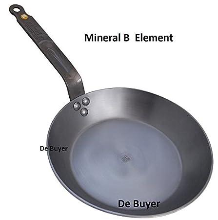 de Buyer Mineral B Element PaN 26 CM Frying PaN-Beeswax: Amazon.co ...