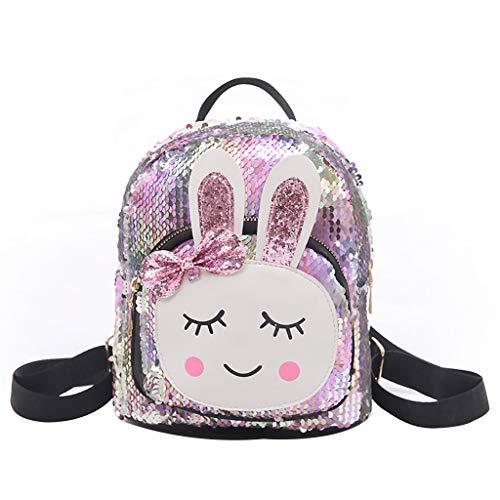 - YEZIJIN Clearance!Women Personality Creative Rabbit Bag Wild Child Student Bag Backpack 2019 New
