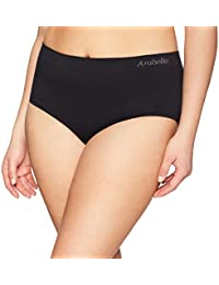 Amazon Brand - Arabella Women's Seamless Brief Panty, 3 Pack