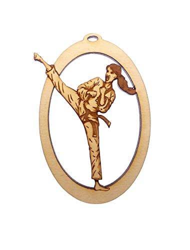 Amazon.com: Personalized Girl Karate Ornament, Karate ...