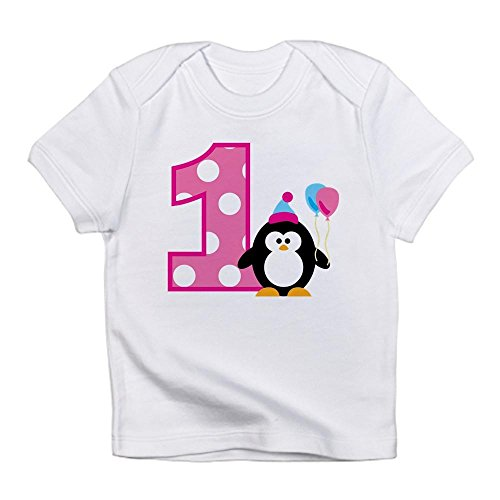 CafePress Penguin Birthday Infant T Shirt