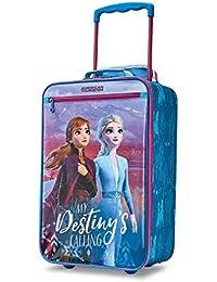 Kids' Disney Softside Upright Luggage, Frozen Destiny, Carry-On 18-Inch