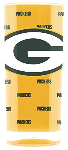 Official NFL 16oz INSULATED SQUARE TUMBLER (GREEN BAY PACKERS) - Square Pittsburgh Panthers