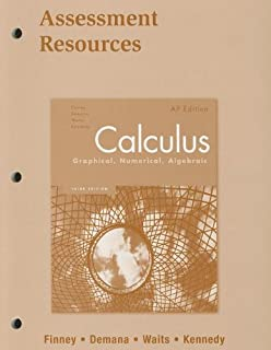 Calculus graphical numerical algebraic ap edition annotated calculus assessment resources blackline masters 2007c fandeluxe Image collections