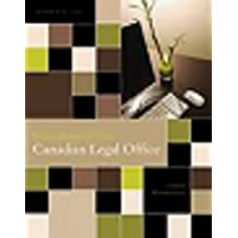 Workbook for Procedures for the Canadian Legal Office