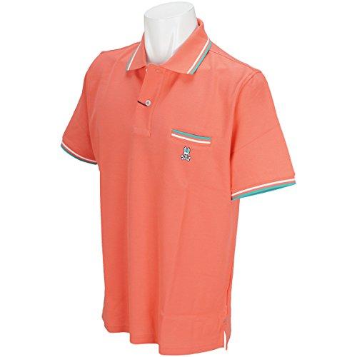 サイコバニー PSYCHO BUNNY 半袖シャツ?ポロシャツ ライン入りポケット半袖ポロシャツ
