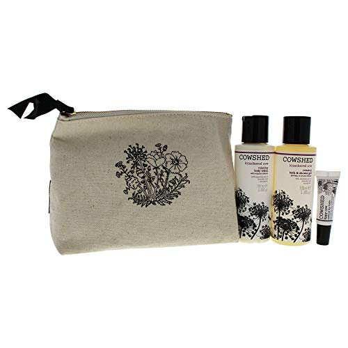 Cowshed 4 Piece Knackered Essentials Set for Women, 3.38 Ounce