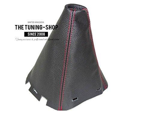 [해외]닛산 NAVARA D40 2006-2012 SHIFT BOOT 블랙 리얼 레드 가죽 스티칭/FOR NISSAN NAVARA D40 2006-2012 SHIFT BOOT BLACK GENUINE LEATHER RED S