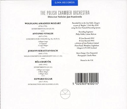 The Polish Chamber Orchestra - A Live Recording