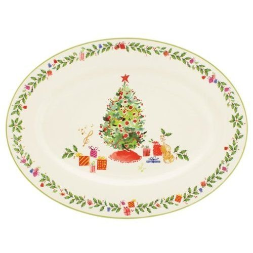Lenox Holiday Inspirations Platter by Lenox