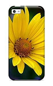 Iphone High Quality Tpu Case/ Yellow Flowers LZYzMqq4448ggNtc Case Cover For Iphone 5c