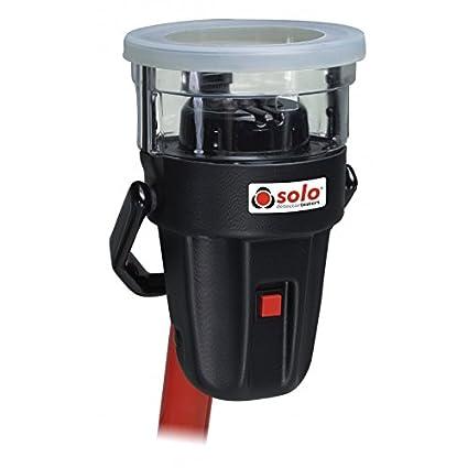 Comprobador inalámbrico detectores de calor SOLO 461 con cargador, incluye dos baterías de bastón // Solo 461 Cordless Heat Detector Tester (battery ...