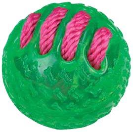 Grriggles Fundamentals Ball Pet Toy, Parrot Green, My Pet Supplies