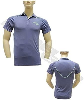 ASICS Polo MS Padel CB Azul 113424 8040: Amazon.es: Deportes y ...