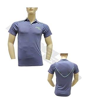 ASICS Polo MS Padel CB Azul 113424 8040: Amazon.es: Deportes y aire libre