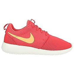 Nike Womens Roshe One Running Shoes (9 B(m) Us)(ember Glowpeach Creamsail)