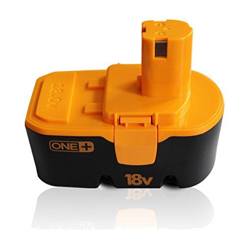 18V Ryobi Battery, Compatible with Ryobi P100 ONE+ One Plus ...