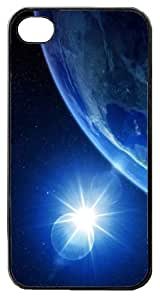 funda rigida case Cover for Iphone 5 and 5S cosmos universe sunrise on earth