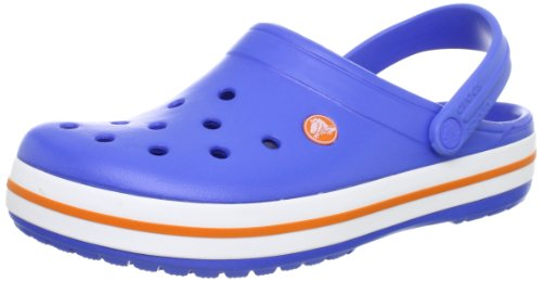 Crocs Crocband,Varsity Blue/Orange,US 5 M