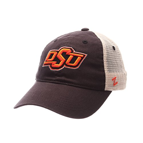 NCAA Oklahoma State Cowboys Adult Men University Relaxed Cap, Adjustable, Team Color/Stone