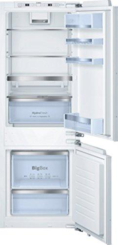 Bosch KIS77AD40 Serie 6 Einbau-Kühl-Gefrier-Kombination / A+++ / 157,8 cm Höhe / 140 kWh/Jahr / Urlaubsschaltung / Optischer und akustischer Alarm bei Temperaturanstieg, mit Memory-Funktion