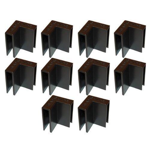 Carton Clips Corrugated Cardboard Box Corner Flap Holders/Clamps Ten Pack ()