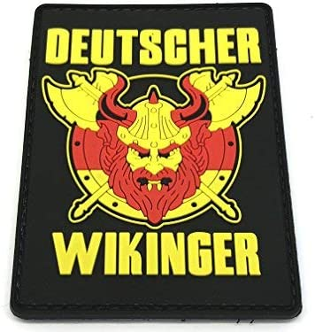 Deutscher Wikinger - Parche de paintball alemán Viking Airsoft de PVC: Amazon.es: Deportes y aire libre