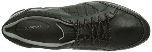 Rockport RSLES QUILT LACEUP Damen Sneakers Schwarz (Black)