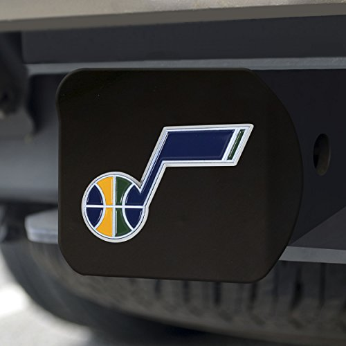 FANMATS NBA Utah Jazz NBA - Utah Jazzcolor Hitch - Black, Team Color, One Size