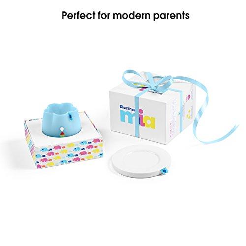 BlueSmart mia (Blue) Smart Baby Feeding Monitor - Track & Analyze Baby's Feeding in Real-Time