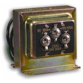 Heath Zenith Wired Door Chime Transformer Amazon Com
