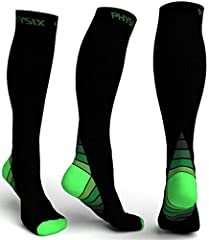 YOUR SEARCH FOR THE BEST COMPRESSION SOCKS FINALLY OVER! GET YOUR STAMINA COMPRESSION SOCKS from Physix Gear Sport- Do you spend all day on your feet, and the result is swollen ankles and fatigue?-Suffer from Aching and Heavy feeling in Legs,...