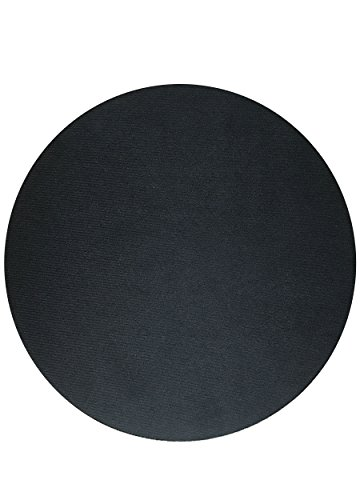 41j8DHgKnaL - Non-slip-Round-Gel-Mouse-Pad-With-Smooth-Cloth-Surface-Black
