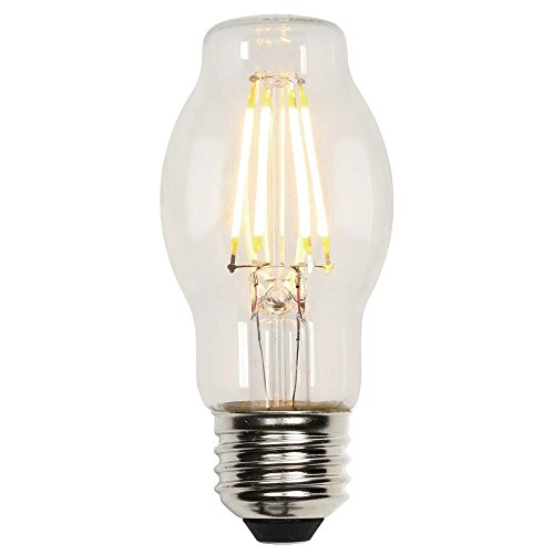 Bt15 Medium Base - Westinghouse 3316700 40-Watt Equivalent BT15 Dimmable Clear Filament LED Light Bulb with Medium Base