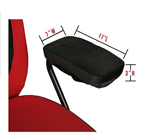 Ziraki Memory Foam Chair Armrest Pad Comfy Office Chair