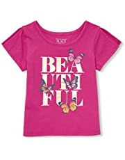 The Children's Place Toddler Girls' Short Sleeve Graphic Tops