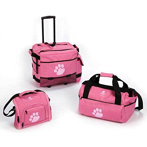 Top Quality Pawprint Luggage Trios 3 Travel Bag Set for T...