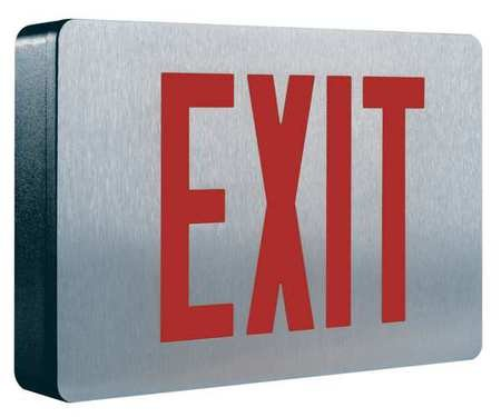 COOPER LIGHTING Cast Aluminum LED Exit Sign